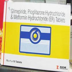 Glimepiride Pioglitazone & Metformin Tablets