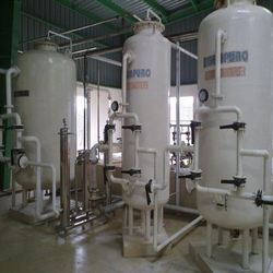 Rubber Lined Two Bed DM Water Plants