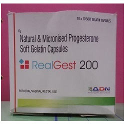 Natural and Micronized Progesterone Capsule