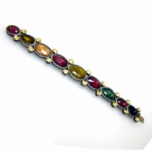 Vintage Reproduction Diamond Bracelets Multi Color