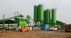 Erection Service for Batching Plants