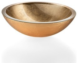 Antique Rainbow Gold Basin
