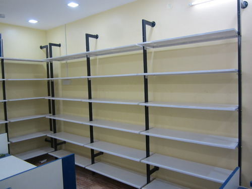 6327a83ee0 Pillar Racks for Garments Hanging and shelving - Pole System Display ...
