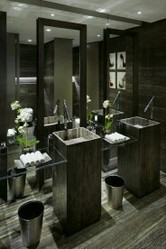 Black Stone Bathroom Basins