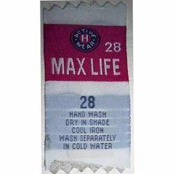 Textile Washcare Labels