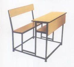 Steel Dual Combined Desk