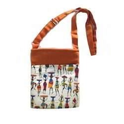 Sling Bags - Cotton iPad Sling Bag Manufacturer from Pune