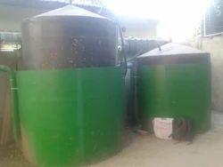 玻璃钢沼气厂,适用于家庭,农场等,厂房容量:2.0 M3