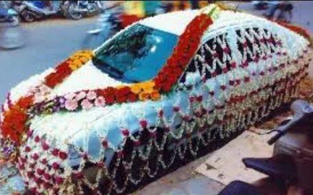 Wedding events car decoration service provider from ahmedabad car decoration junglespirit Gallery