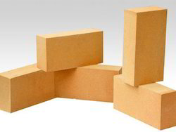 Clay And Alumina / Bauxite Rectangular High Alumina Bricks, Size: 12 In. X 4 In. X 2 In., Thickness: 25 To 75 Mm