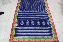 Indigo Designer Saree