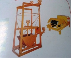 Concrete Loading Lift 100x50 MM Channel Structure