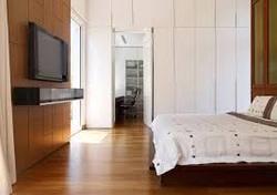 Residence wooden flooring