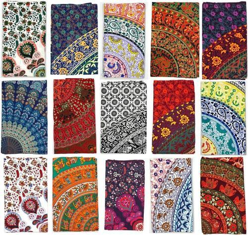 Mandala Tapestry Mandala Wall Hanging Beach Throw