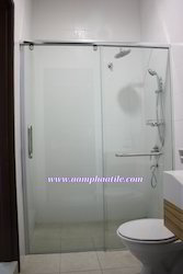 Shower Cubicles With Sliding Door