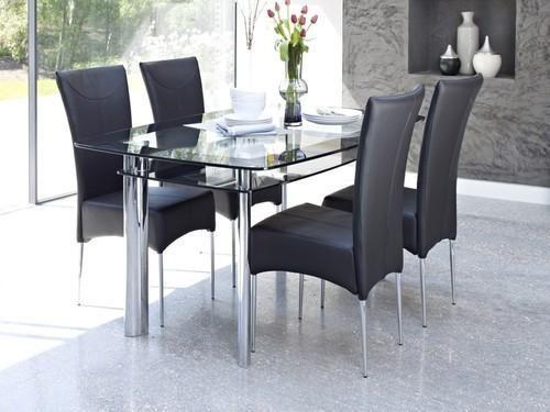 Transpa Modern Gl Dining Table