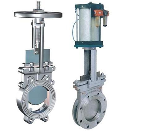 Gate Valve Pneumatic Or Manual Knife Gate Valve