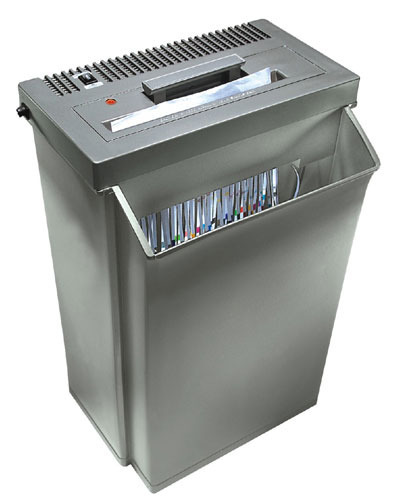 paper shredding equipment