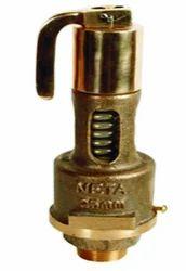 Bajaj Bronze Spring Loaded Pop Type Safety Valve, Size: 15 Mm - 100 Mm
