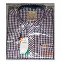 Mens Checkered Casual Shirt