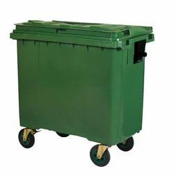 4 Wheeled Waste Bin 660lit