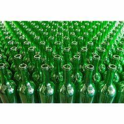 GMO Glass Green Color Bottles, Capacity: 180  - 750 ml