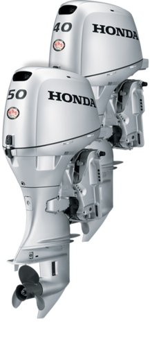 Honda Obm 40 Hp Outboard Motor  Electric Motors And