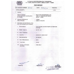 Government Lab Report - Electronic Testing & Development Centre Report