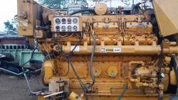 Good Used Caterpillar C32 Marine Engine and Generator Set - Dynamic