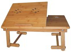 Wenge EROS Laptop Table - Adjustable