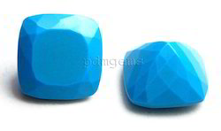 Turquoise Faceted Gemstone
