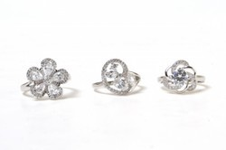 Imported Silver Ladies Rings