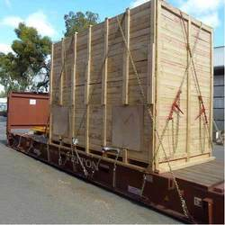 Industrial Wooden Box Strapping Service, Capacity: 1 Ton