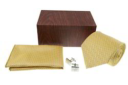 Rosewood Tie Cufflink Hanky Box, For Personal Care And Packing