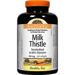 Milk Thistle 150mg -  40 Softgels