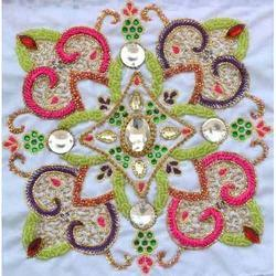 Floral Embroidery Jaal Work