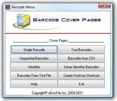 Bar Code Form Filling Process