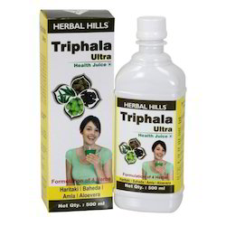 Premium Quality Triphala - Healthy Digestion Support Herbal Juice - 500 ml