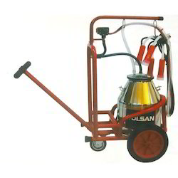 Milking Bucket Trolley Single Milking