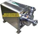 Semi Automatic 3 Hp Ss Milk Pump, Size: Standard