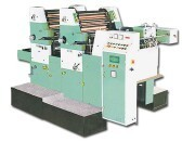 Two Colour Sheet Fed Offset Machine