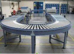 180 Degree Roller Conveyor
