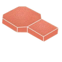 Spoon Interlocking Tile Mold