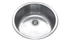 Stainless Steel Round Bowl Kitchen Sink