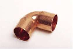 Copper Elbows -1 3/8'