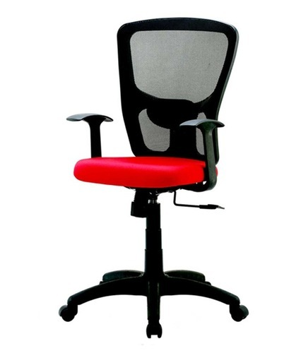 Red Jazz Medium Back Office Chair