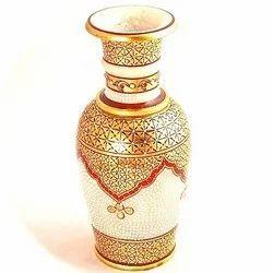 Marble Painted Vase