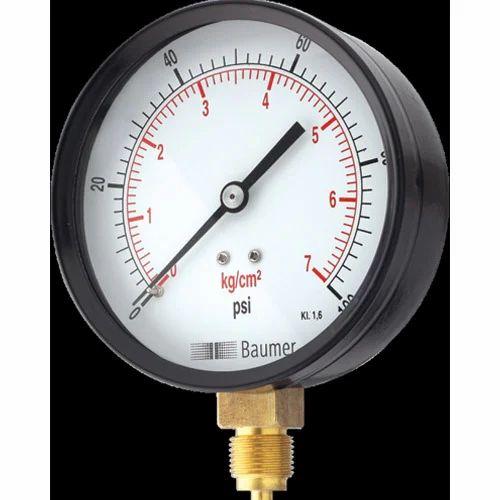 Pressure Gauge Utility Pressure Gauge Bourdon Type