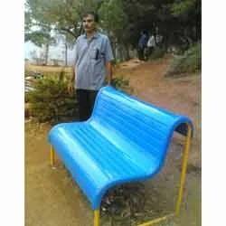 Mild Steel Park Bench