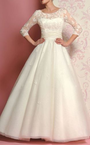 Covered Wedding Gown